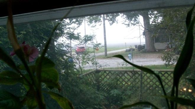 weds morn fog