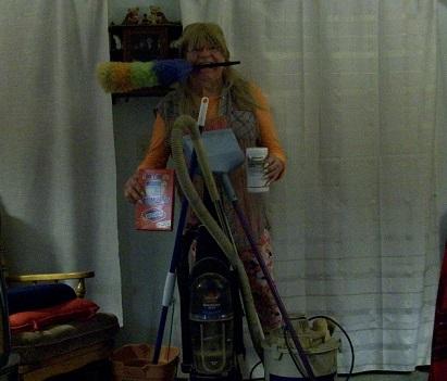 me dusting...